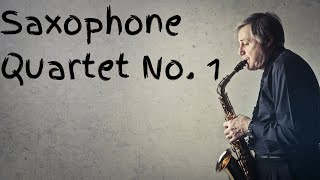 Saxophone Quartet No 1