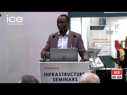 Ecobuild 2017 - ICE Infrastructure Seminars - Tobi Babalola On Domestic Storage as a Service