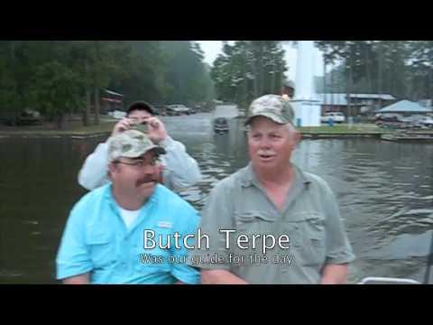 Crappie Fishing On Lake Conroe