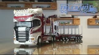 Woodtrans Scania R730 Topline Holztransporter 72919 Tekno Models