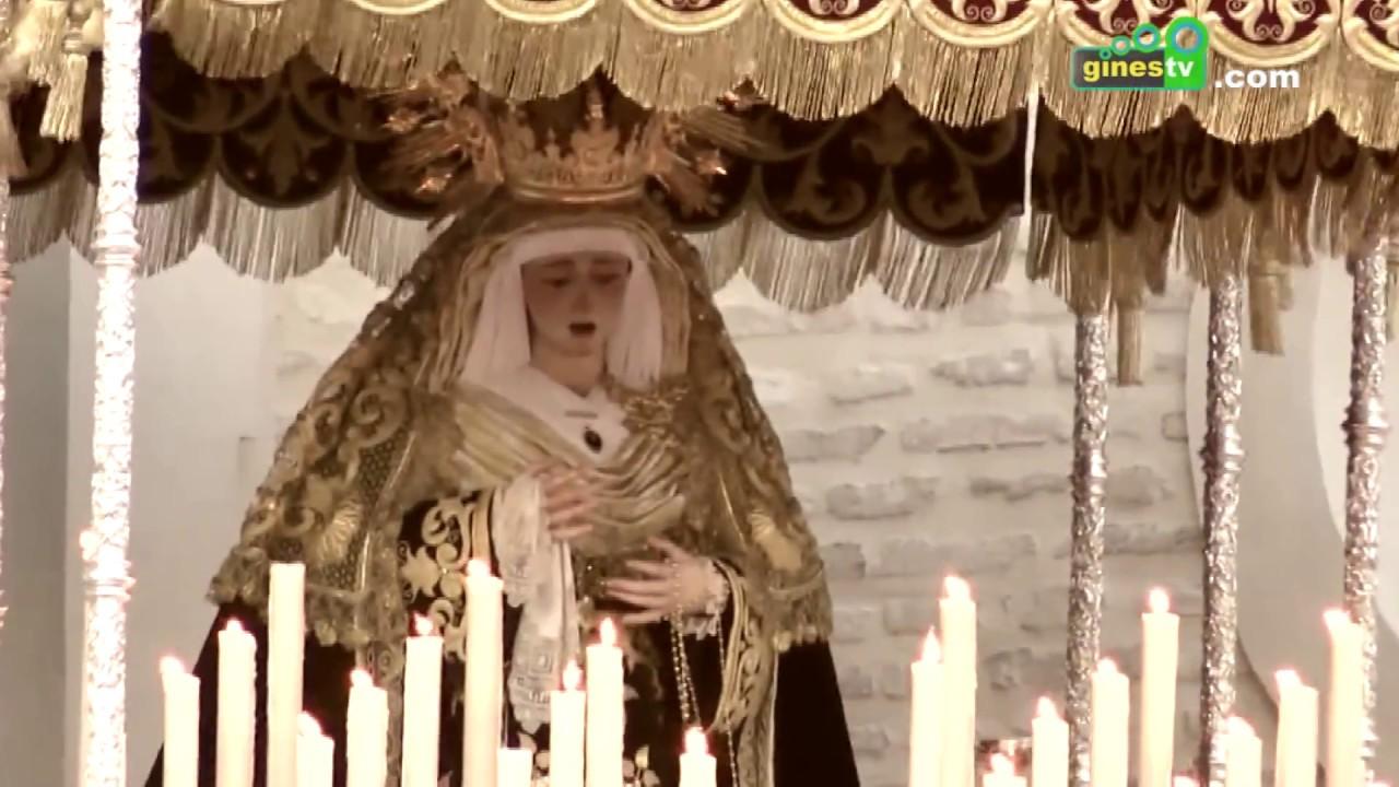 Gines suena a azahar. Este viernes, exaltación del patrimonio cultural de la Semana Santa