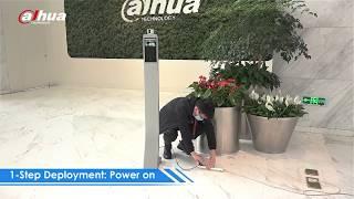 System kontroli dostępu z pomiarem temperatury