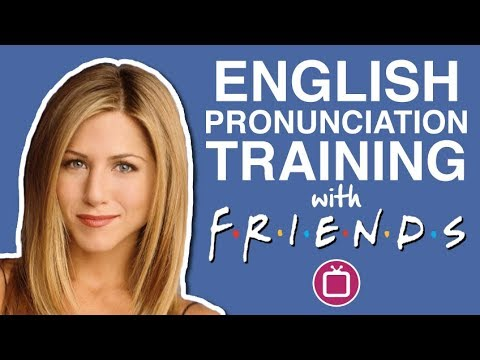English Pronunciation Training with Friends | Learn American Stress with TV Series