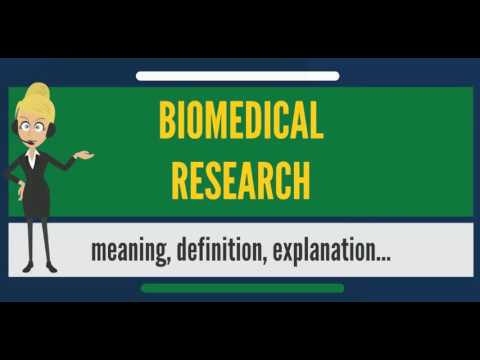 What is BIOMEDICAL RESEARCH? What does BIOMEDICAL RESEARCH mean? BIOMEDICAL RESEARCH meaning