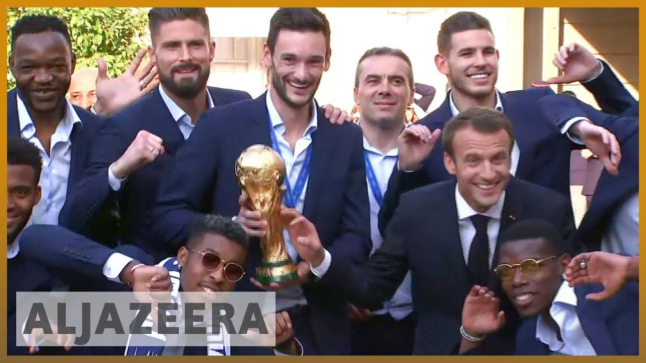 🇫🇷 World Cup winners: Heroes' welcome for France players | Al Jazeera English