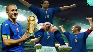 PES 6 GAMEPLAY   FINAL WORLD CUP 2006   ITALY VS FRANCE