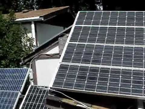 Solar Power Update Off Grid Rainwater Roof Catchment System Summer Solstice 2012
