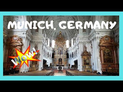 MUNICH: magnificent ART, 16th century BAROQUE church of SAINT MICHAEL (GERMANY)