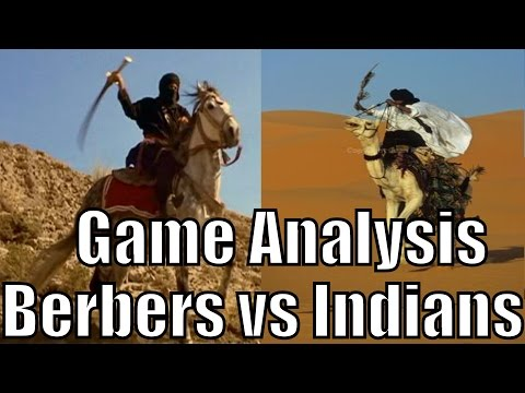 AoE2 - Game Analysis: Nobody (Berbers) vs CN Burns (Indians)