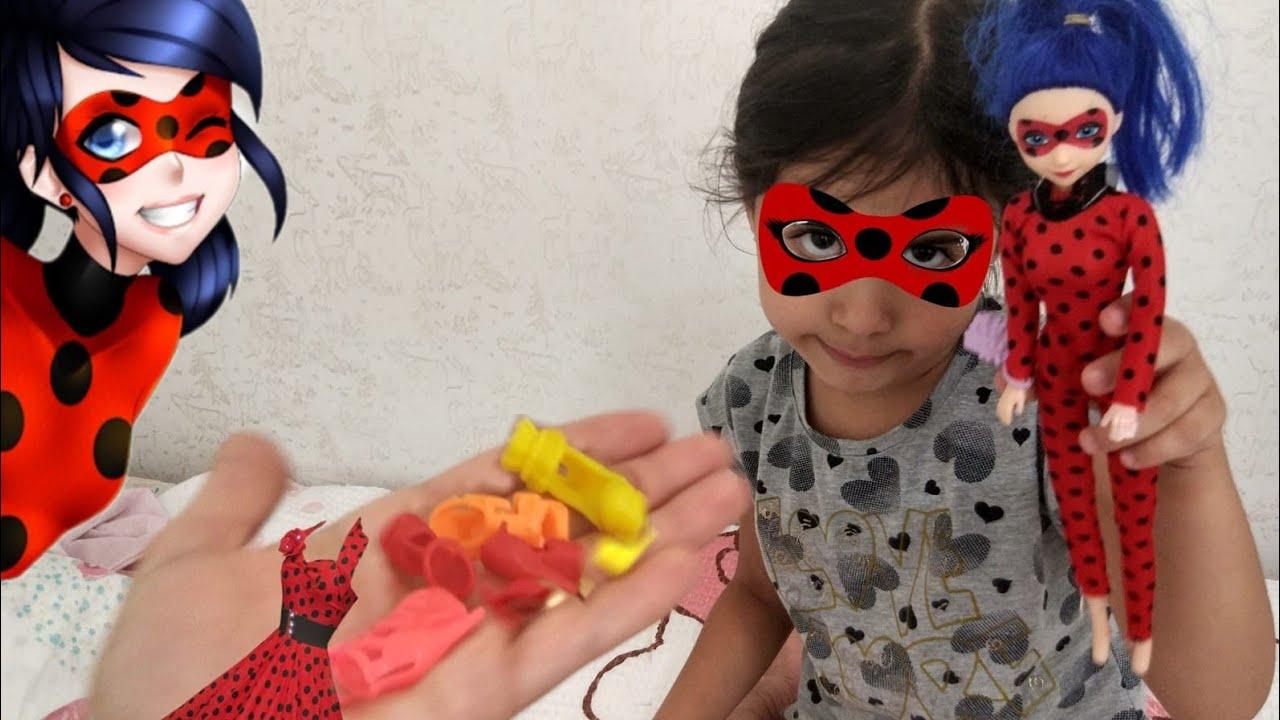 Aylin in Ugur Böceği Barbiesi ve Kıyafetleri Nerede !! Oyun Oynuyorum Pretend play | Funny kids