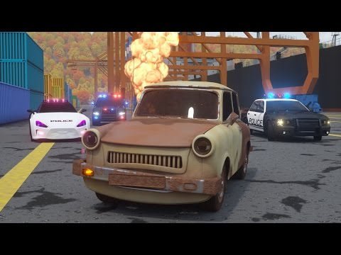 Thumbnail: Catching Ace the Lemon Car - Sergeant Cooper the Police Car 2 | Police Chase Videos For Children