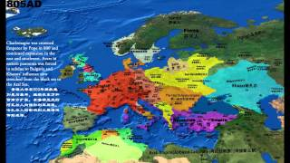 欧洲2500年风云 Europe Map in 2500 years
