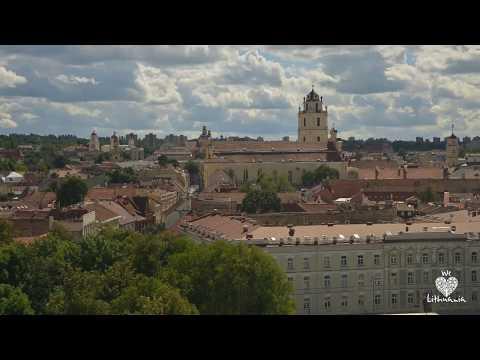 Vilnius in 24 h - Time-lapse