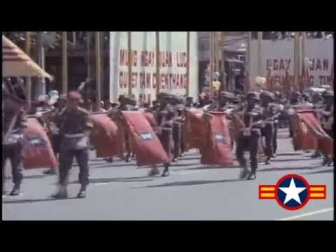 South Vietnam army parade in 1971.I love South Vietnam.Fuck you North Vietnam.