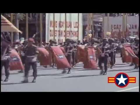 South Vietnam army parade in 1971.I love South Vietnam.Fuck you North Vietnam.