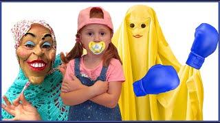 Няня и забавная история для детей | Правила поведения для детей |Настя и Лимон