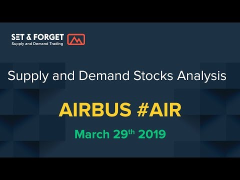 How To Trade Stocks, Airbus SE Airline Stock Long Bias At New Demand Levels