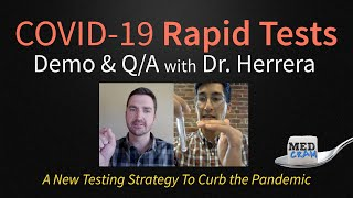 COVID-19 Rapid Tests Demo & Q/A with E25Bio Co-Founder (At Home Coronavirus Testing)