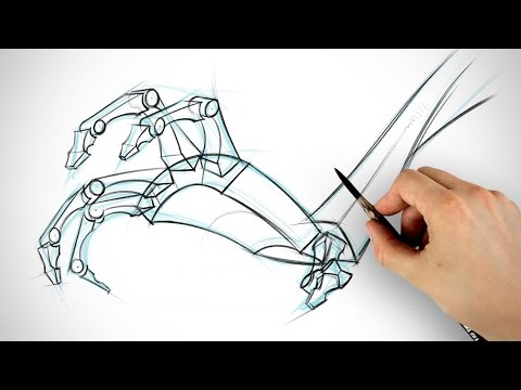 How to Draw Hands - Bone Assignment Example | Proko