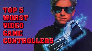 Gambar cover Top 5 Worst Video Game Controllers Ever