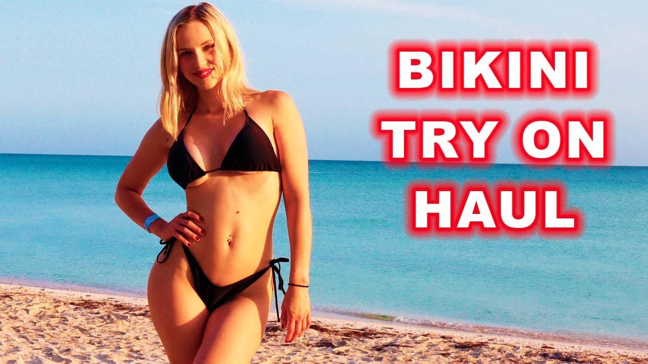 Summer Bikini try on haul 2021 #bikin #tryon #haul #modeling #beach #swimwear