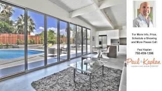 566 East Lindsey Drive, Palm Springs, CA Presented by Paul Kaplan.