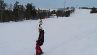 Nord Star Murmansk Ski. Russia April 2017 / обучение в НордСтар