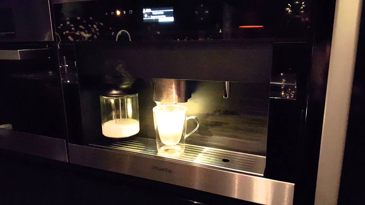 miele cva 6401 clst kaffemaskin youtube. Black Bedroom Furniture Sets. Home Design Ideas