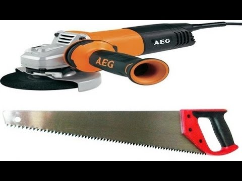 Как заточить ножовку болгаркой
