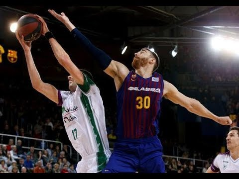 FC Barcelona Vs Unicaja Málaga | J18 ACB | HD