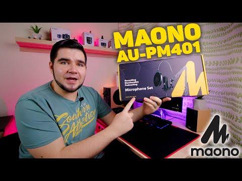 Честный обзор USB-микрофона MAONO AU-PM401. Распаковка, установка, тест качества записи звука!