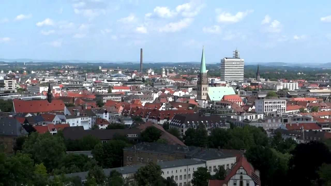 Stadt bielefeld in ostwestfalen lippe youtube for Innenarchitektur ostwestfalen lippe