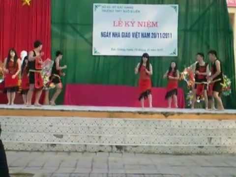 Múa Chiều Lên Bản Thượng - A4K64 THPT Ngô Sĩ Liên - Bắc Giang