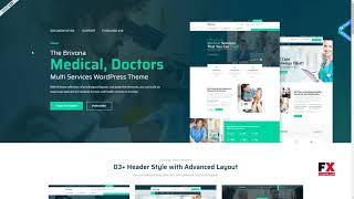 Brivona - Medical, Health and Hospital WordPress Theme      Kusuma Mi