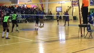 Spike Action with Clanae Davis