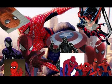 Ultimate Spider-Man 90s Theme Tribute (films, cartoons, video games, comics)