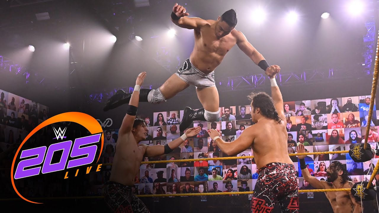 Mansoor, Stallion, Atlas & Adonis vs. Ever-Rise & Bollywood Boyz: WWE 205 Live, Feb. 19, 2021