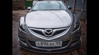 Настоящая бесконтактная мойка автомобиля / real non-contact car wash