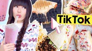 virale TikTok Trend Hacks 👅 Bubble Tea, PopTarts, Wrap  | ViktoriaSarina