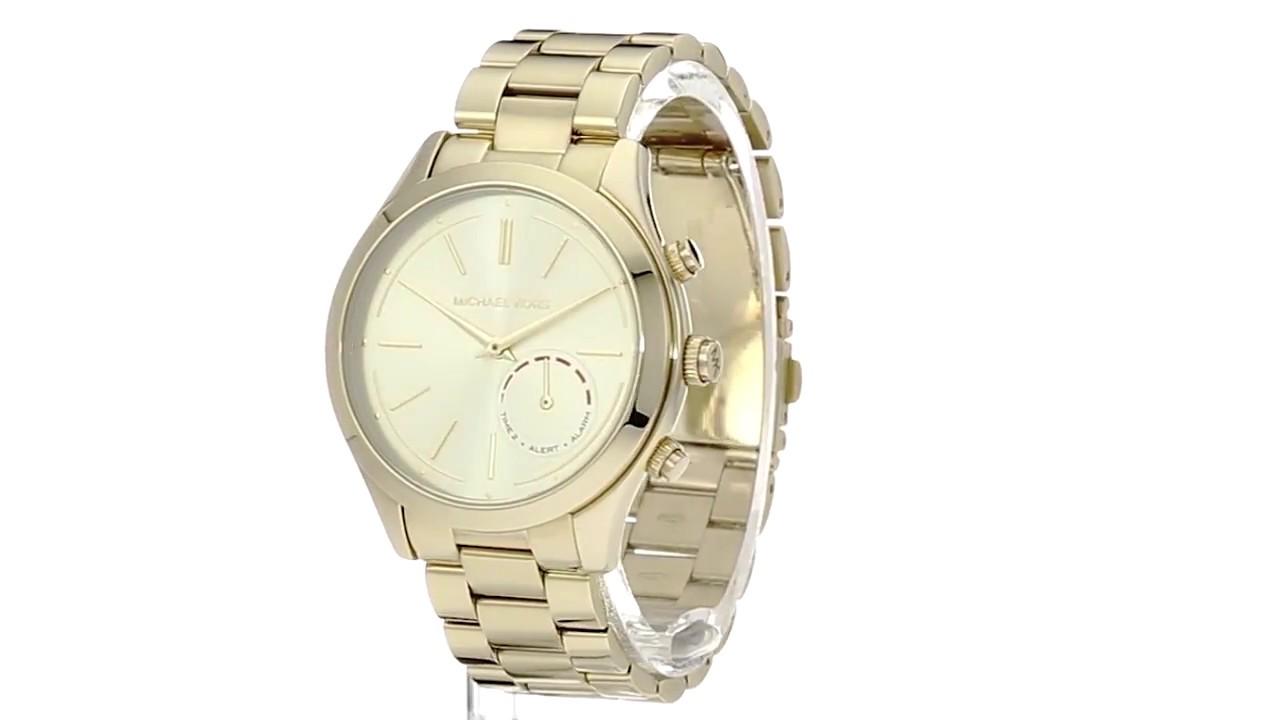 4a9d45e464be0 Michael Kors Access Slim Runway Hybrid Smartwatch - MKT4002 SKU 8851360