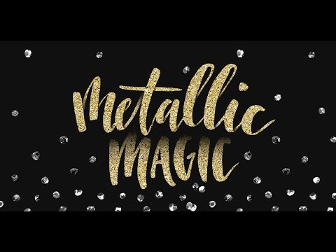 Metallic Magic: Create Impressive Digital Foil Textures