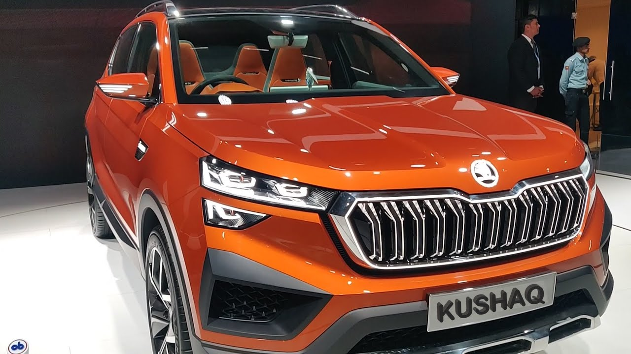 2021 Skoda Kushaq Compact SUV India Launch Interior Exterior Price Detailed  Specifications - YouTube