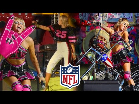Miley Cyrus at NFL Super Bowl LV Pre-Show TikTok Tailgate (FULL PERFORMANCE SHOW 2021)