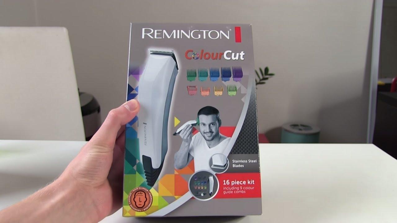Remington ColourCut Hair Clipper [UNBOXING] Remington HC11