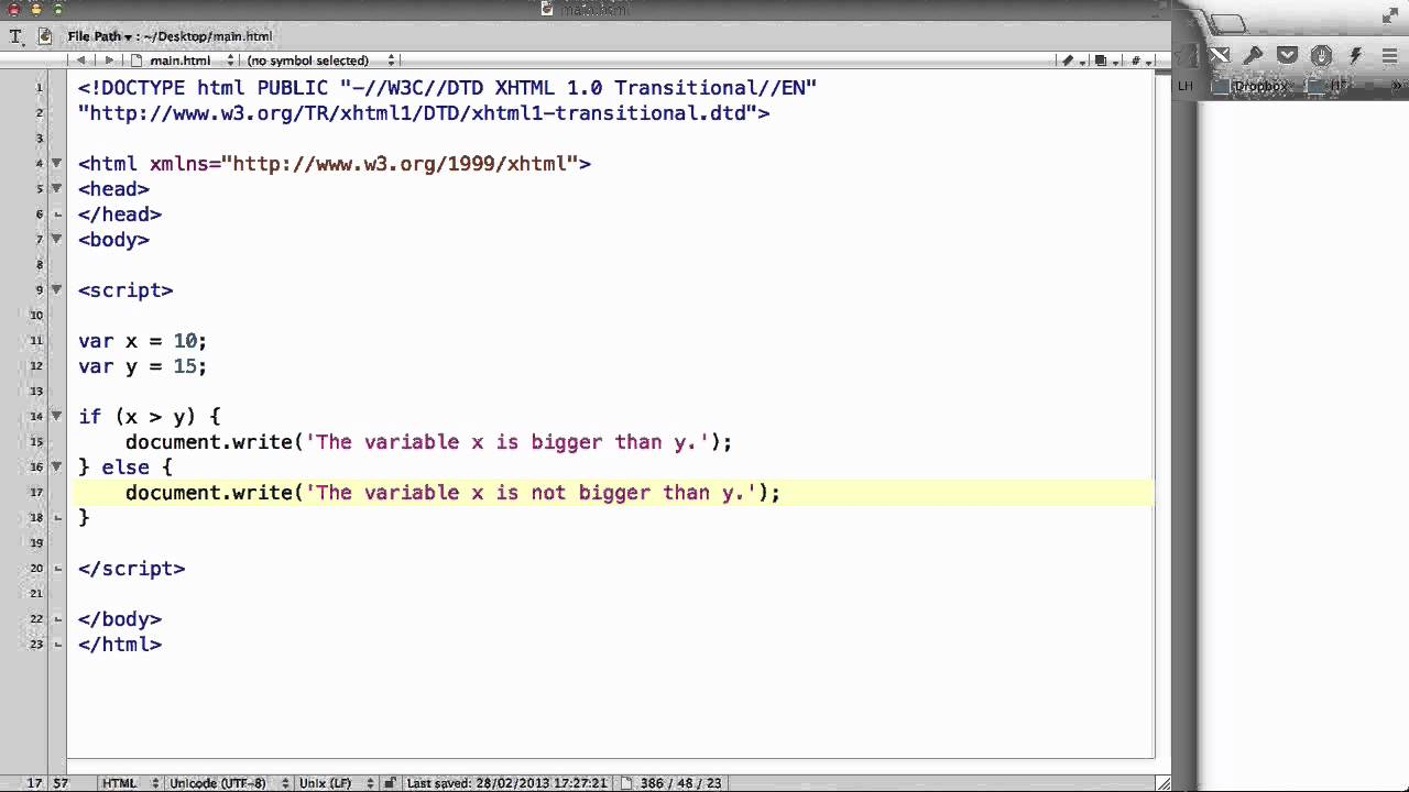 JavaScript if else statements - w3resource