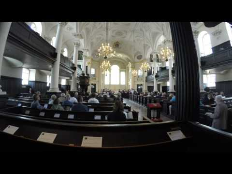 Eastern Mennonite Touring Choir Evensong at St. Martin in the Fields