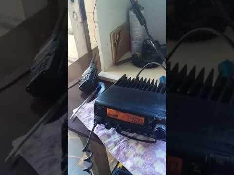 Contato via repetidora de Resende 310 km linha reta Rafard SP/ Volta Redonda RJ  20/04/19 QTR 15:00
