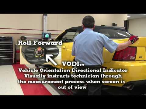 John Bean V2300 Imaging Wheel Alignment System