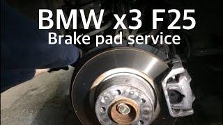 HOW TO BMW x3 F25 Bremsbeläge und Sensor tauschen hinten xDrive elektronische Handbremse