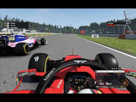đua xe f1 2019 chặng đua nước đức hockenheim _ cuộc đua 50%. 34 vòng đua
